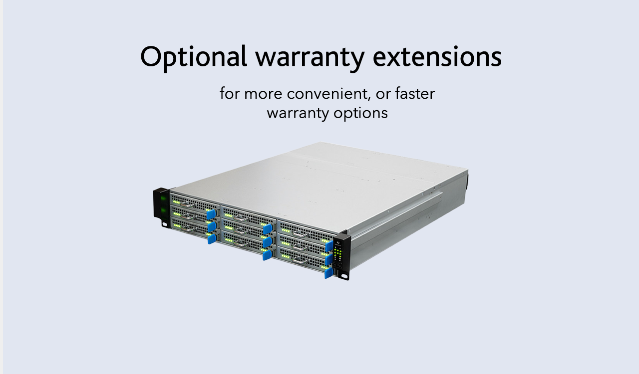 Warranty Extensions with Cluster Server U2