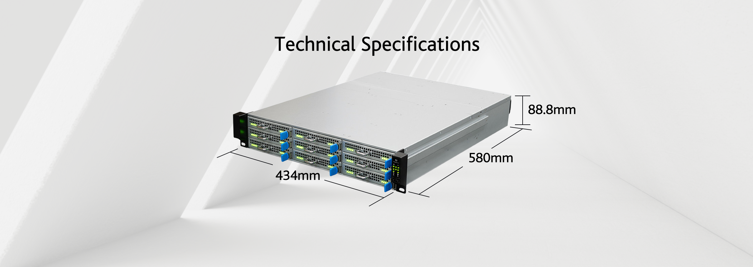 Technical Specifications for Kauricone Cluster Server U2