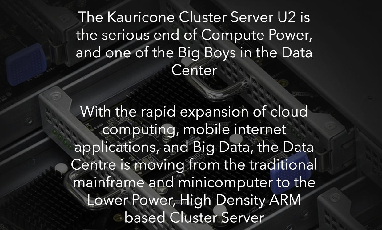 Cluster Server U2 Mainframe Computing, High Density Compute