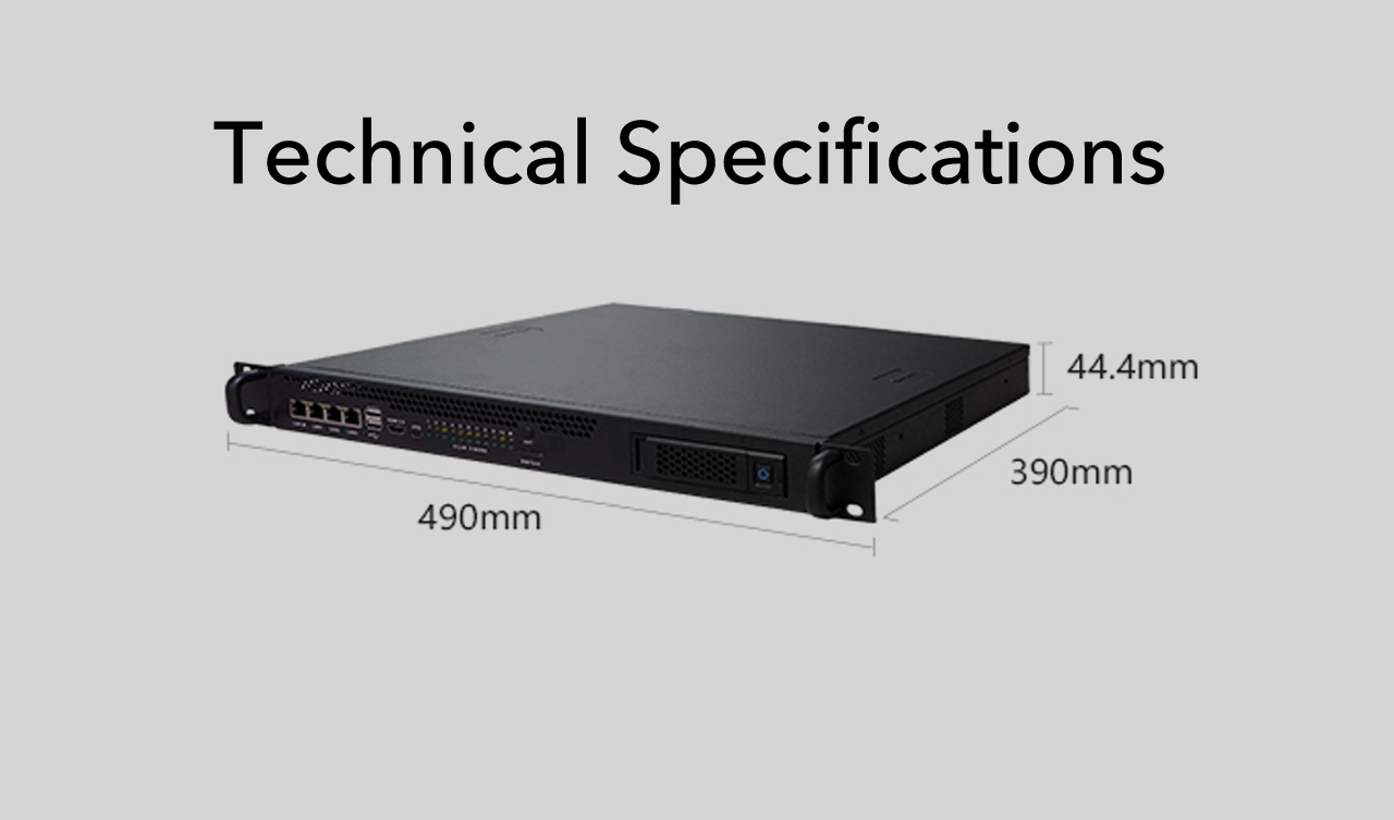 Cluster Server U1 Technical Specifications